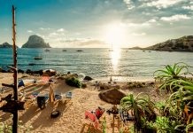vuelos a Ibiza, Playa Ibiza