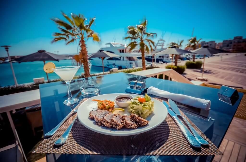 Guía Rápida Egipto, Restaurante