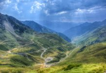 Ruta en moto, Carretera Pirineos