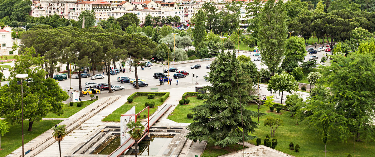 viaje a Albania, Tirana