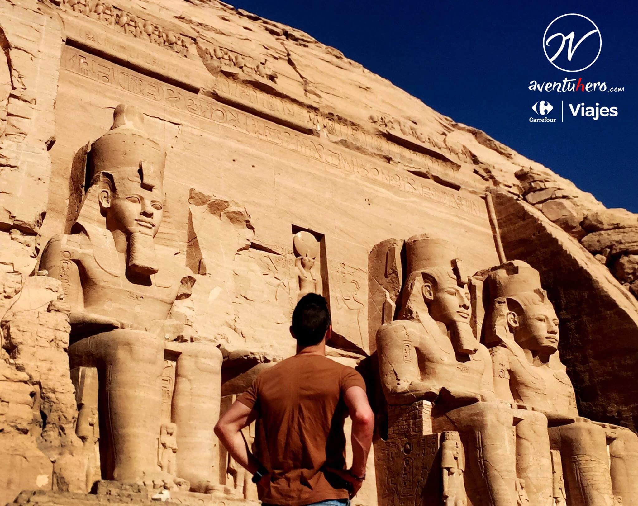 Entrada de Abu Simbel