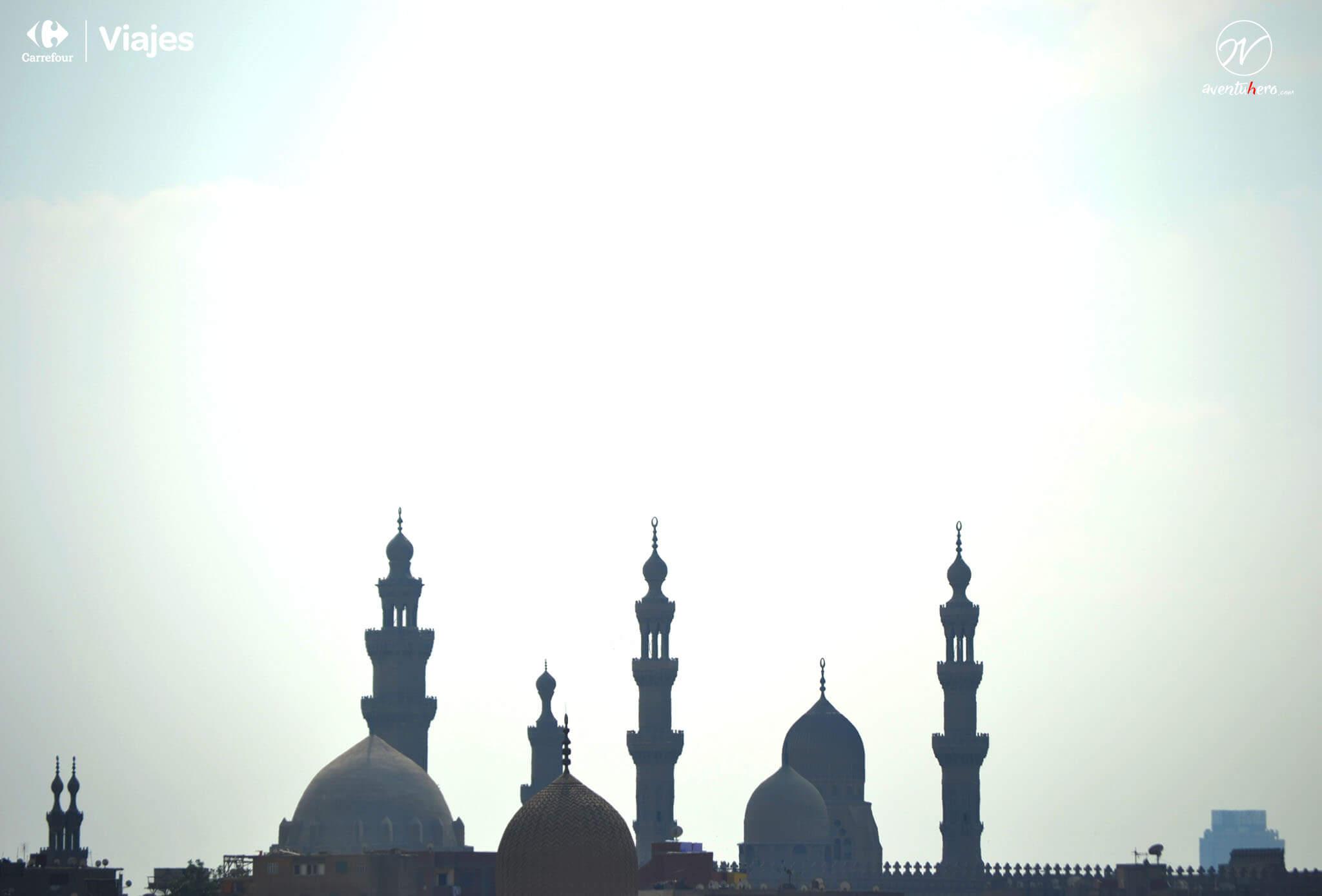 El Cairo, Torres de la Mezquita de Alabastro