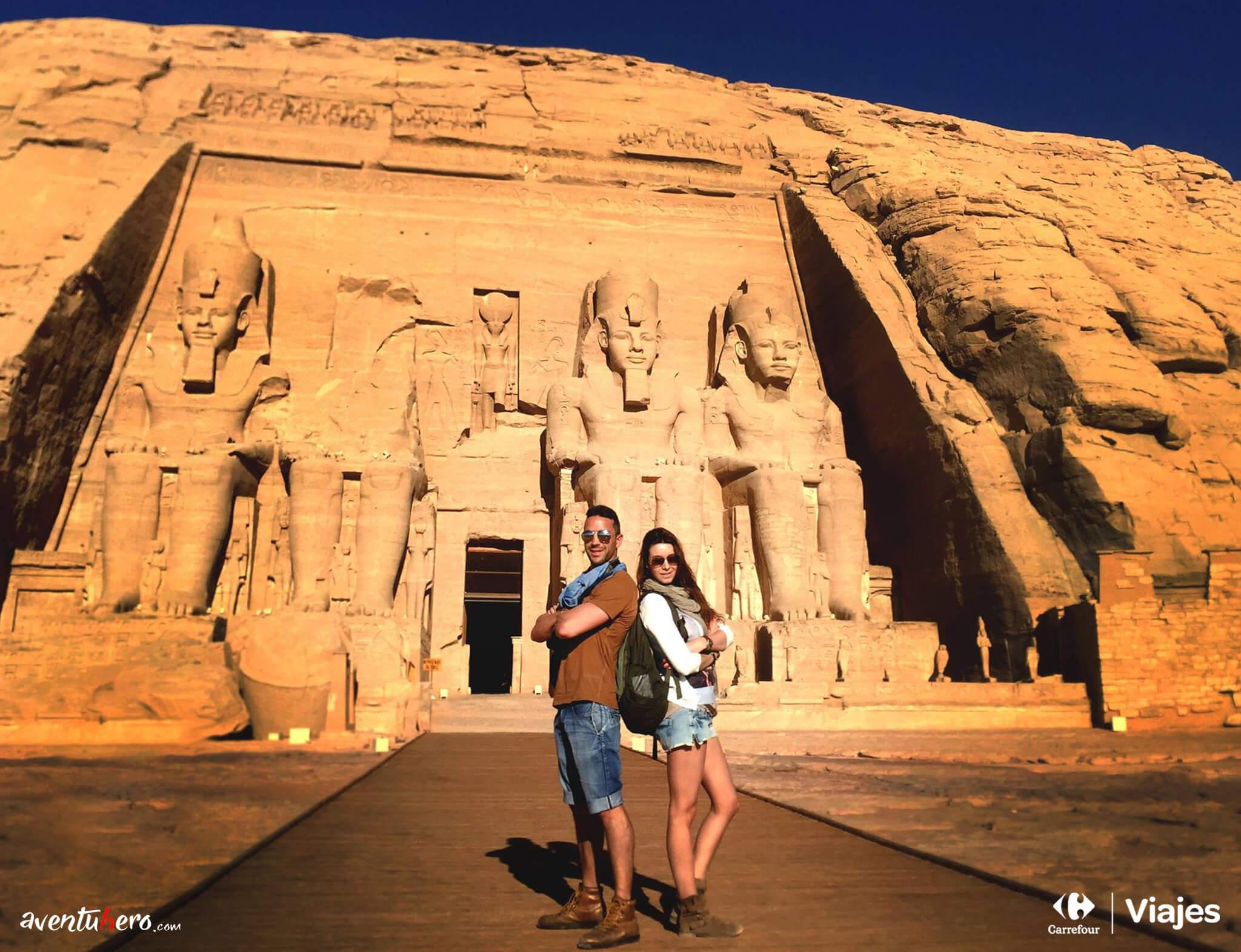 A las puertas de Abu Simbel