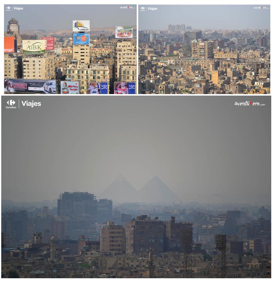 El Cairo, Egipto. Entre la bruma