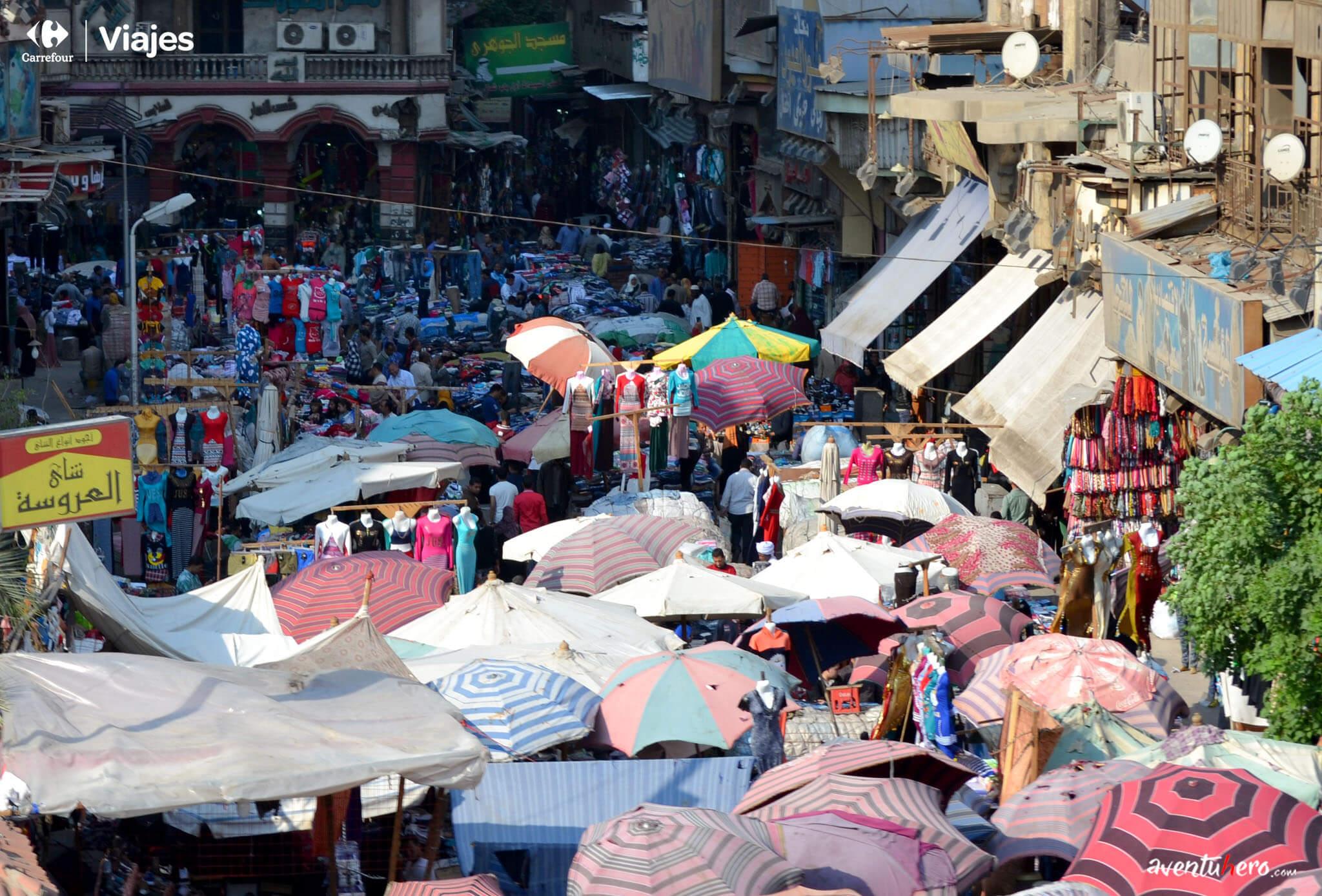 Panorámica del Bazar Khan el Khalili