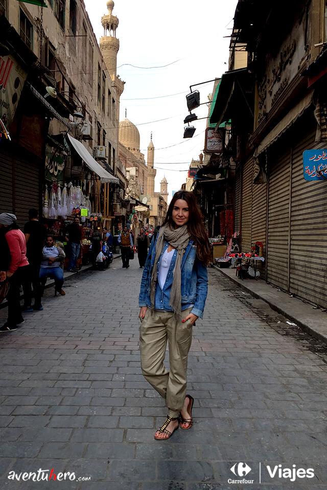Natalia en el Bazar