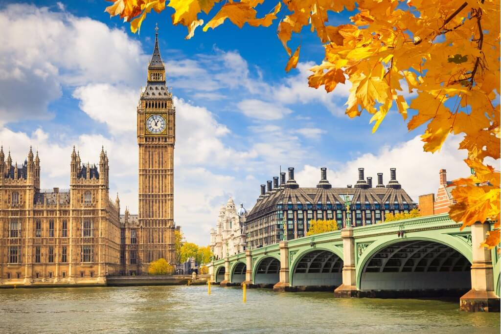 Viajar a Londres, Big Ben en Londres