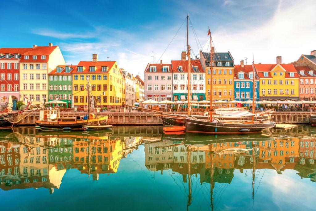 Canal Nyhavn, Copenhague