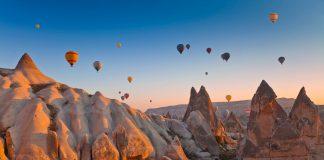 Visita a Capadocia, Panorámica de la Capadocia en Turquía