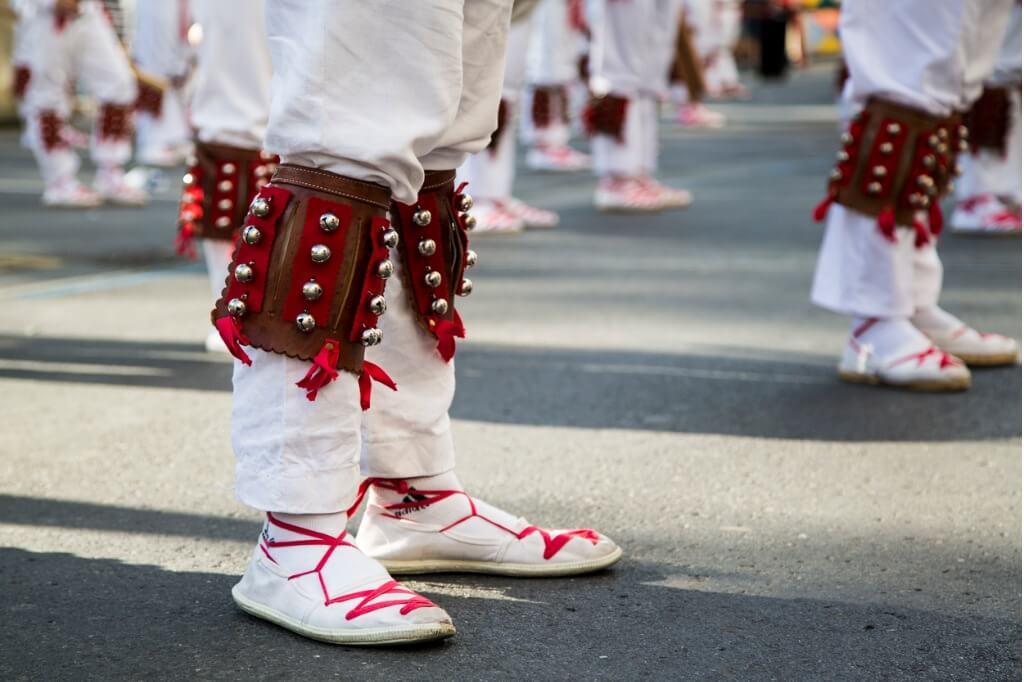 Cultura vasca, Detalle de ropa vasca