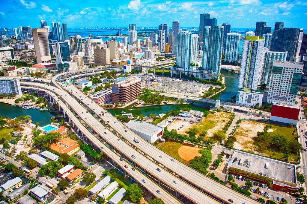 vuelos a Miami, Panorámica de Miami