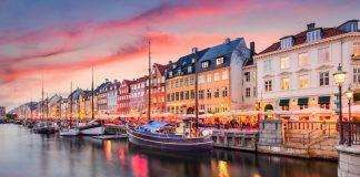 Europa en invierno, Lago Nyhavn