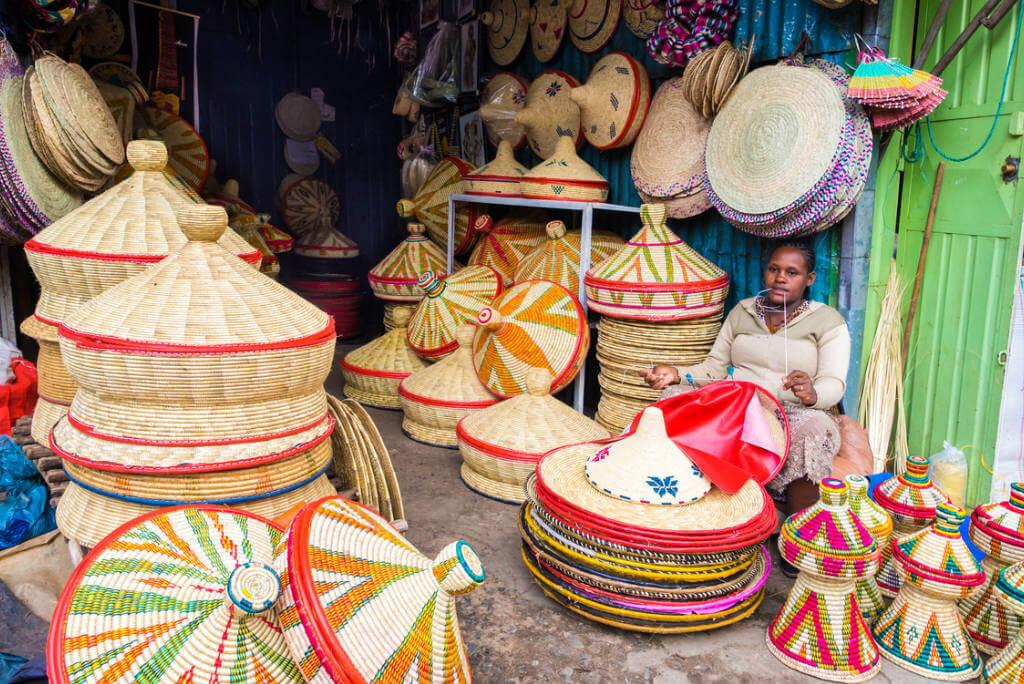 mercados por el mundo, Mercado Addis Ababa en Etiopía