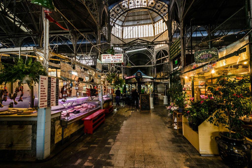 mercados por el mundo, Mercado de San Telmo en Buenos Aires