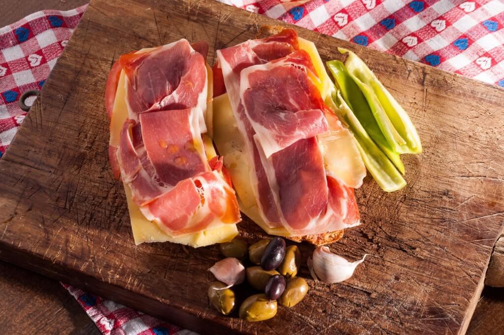 Gastronomía baleares, Pan con Tomate