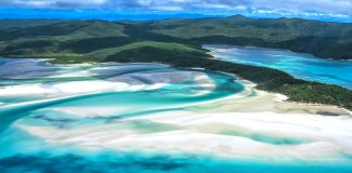 lugares mágicos, Playa Whitehaven en Australia