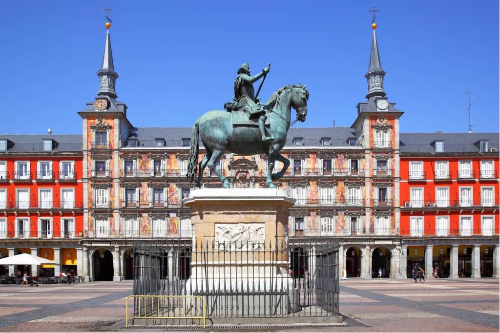 ruta por España, Plaza Mayor de Madrid