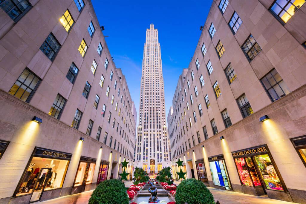 Viaje a Nueva York, Rockefeller Center