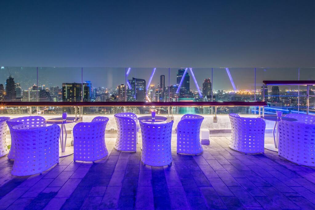 vuelos a Miami, Rooftop Restaurant