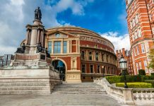 vuelo a Londres, Royal Albert Hall en Londres