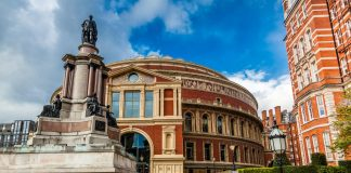 vuelo a Londres, Royal Albert Hall en Londres