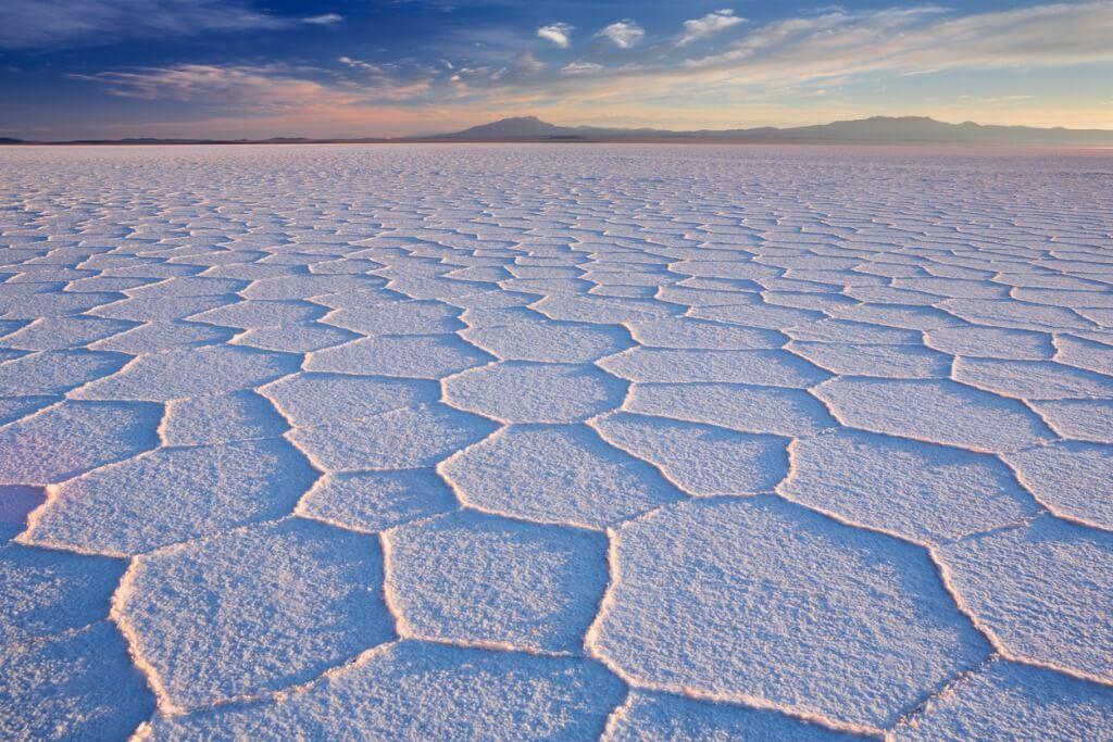 lugares mágicos, Desierto salar de Uyuni en Bolivia-Chile
