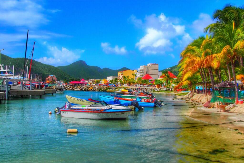 Vuelos al Caribe, Playa St. Marteen - Philipsburg