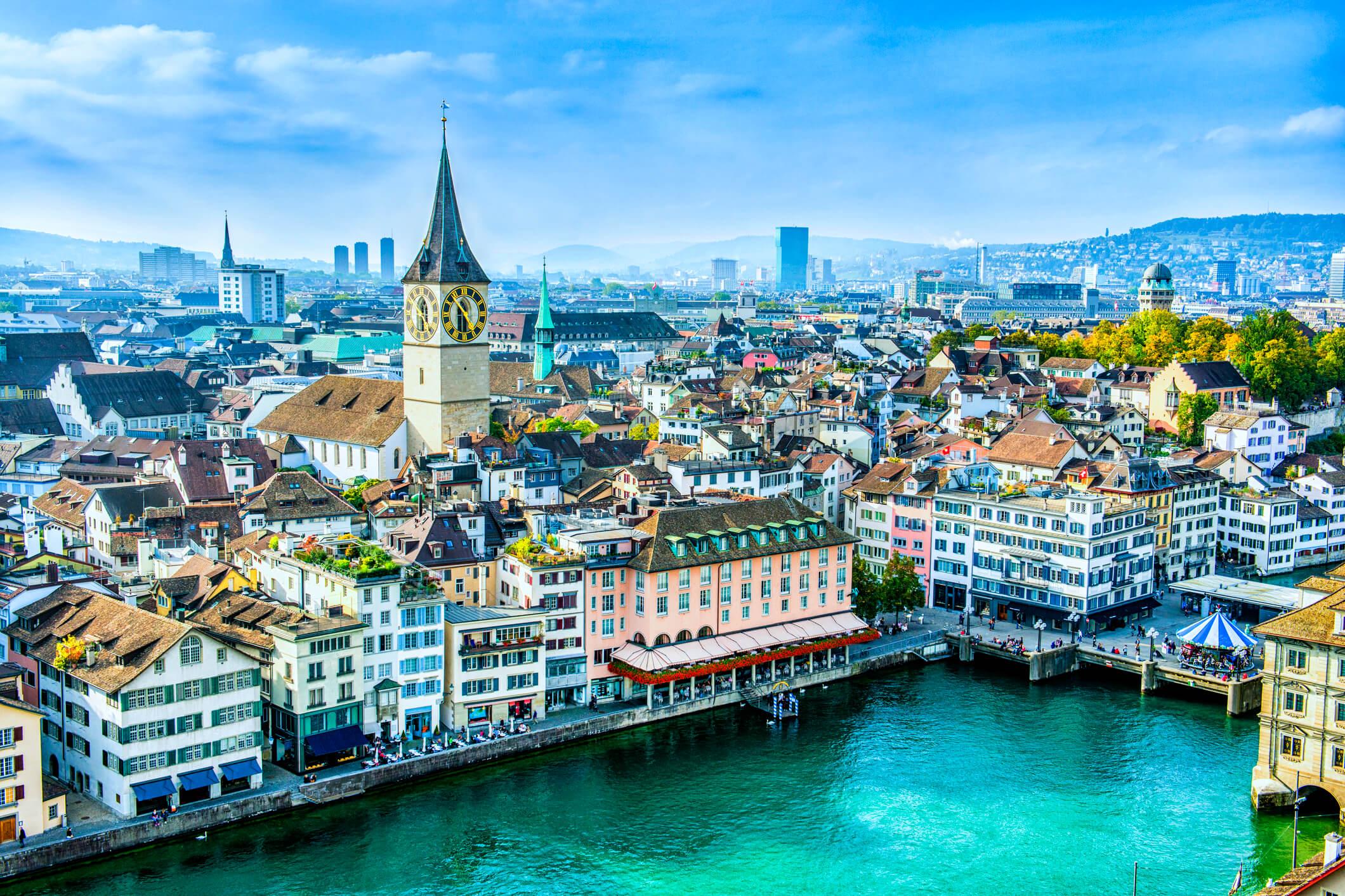 vista zurich suiza