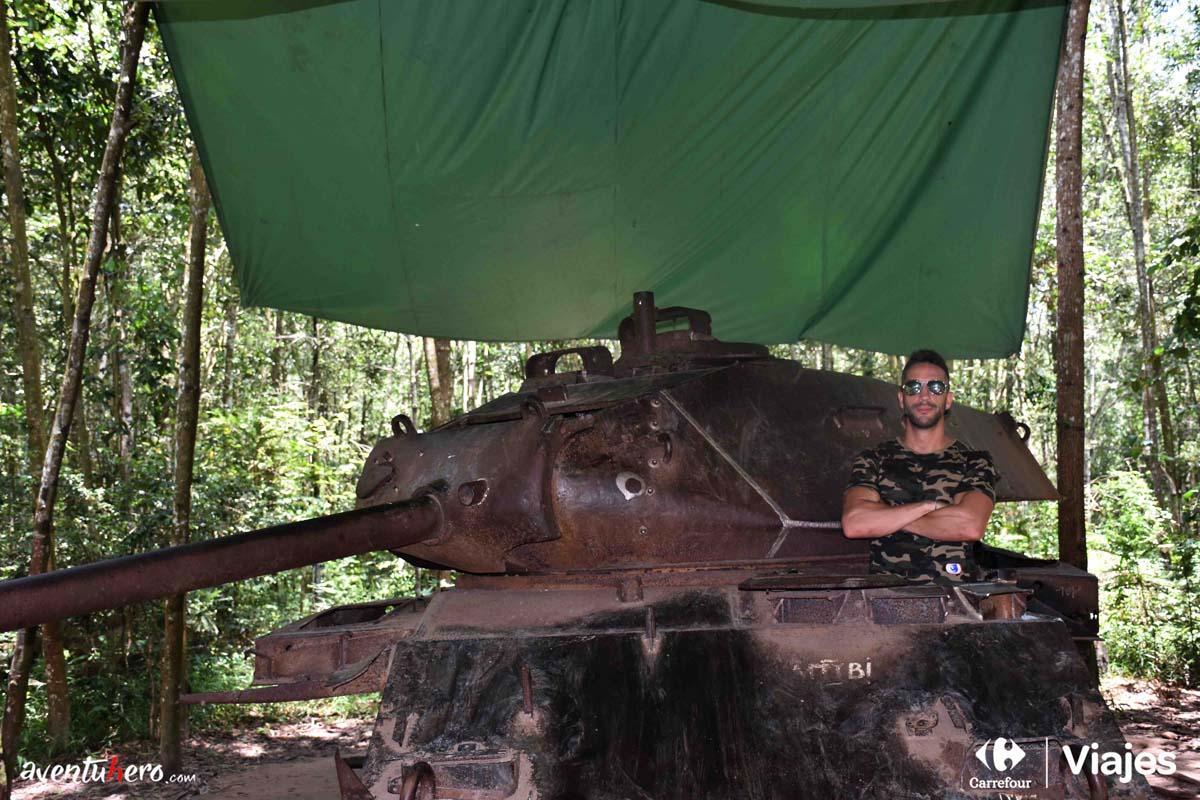 Tanque abandonado de Cuchi