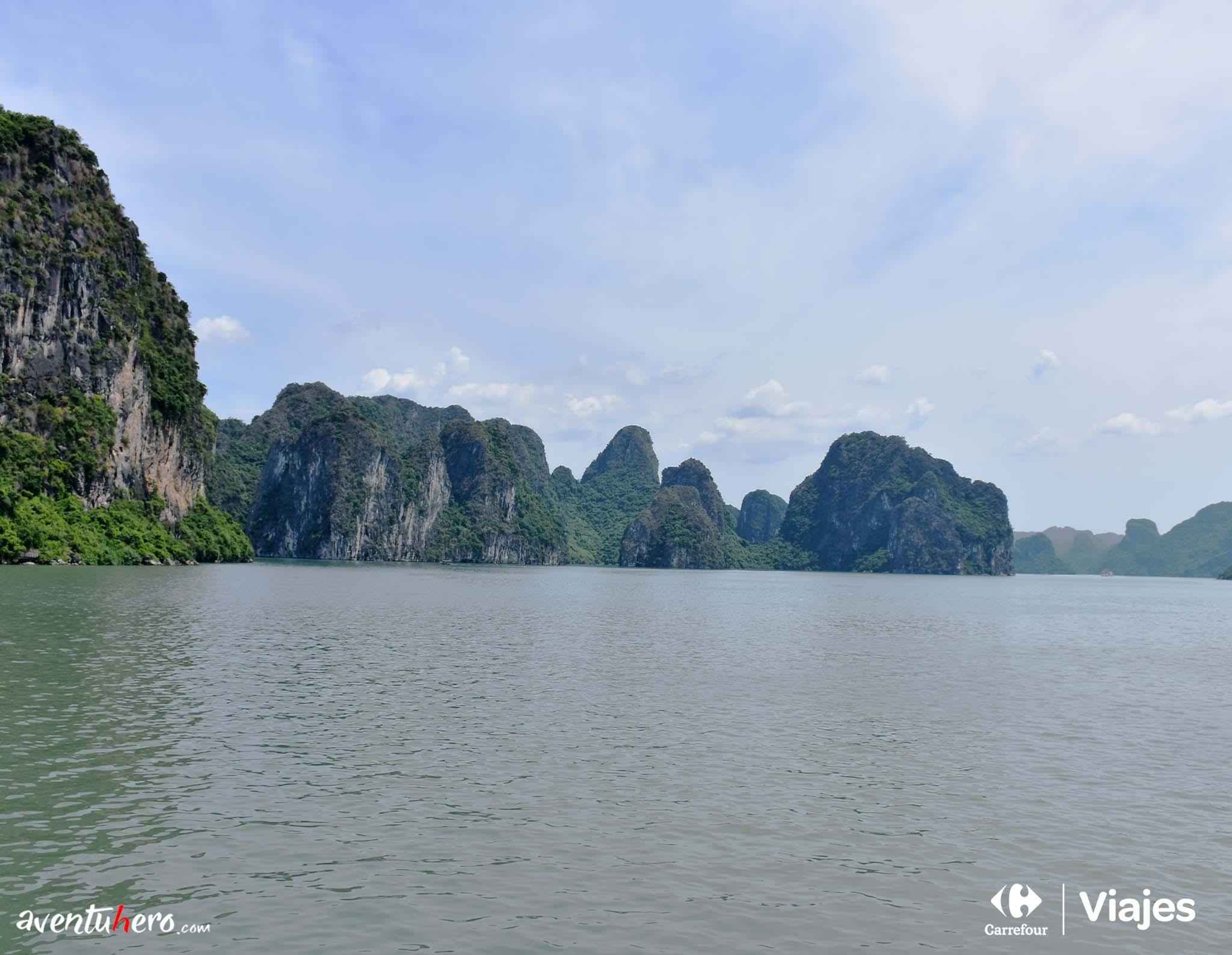 Bahía de Halong, panorámica