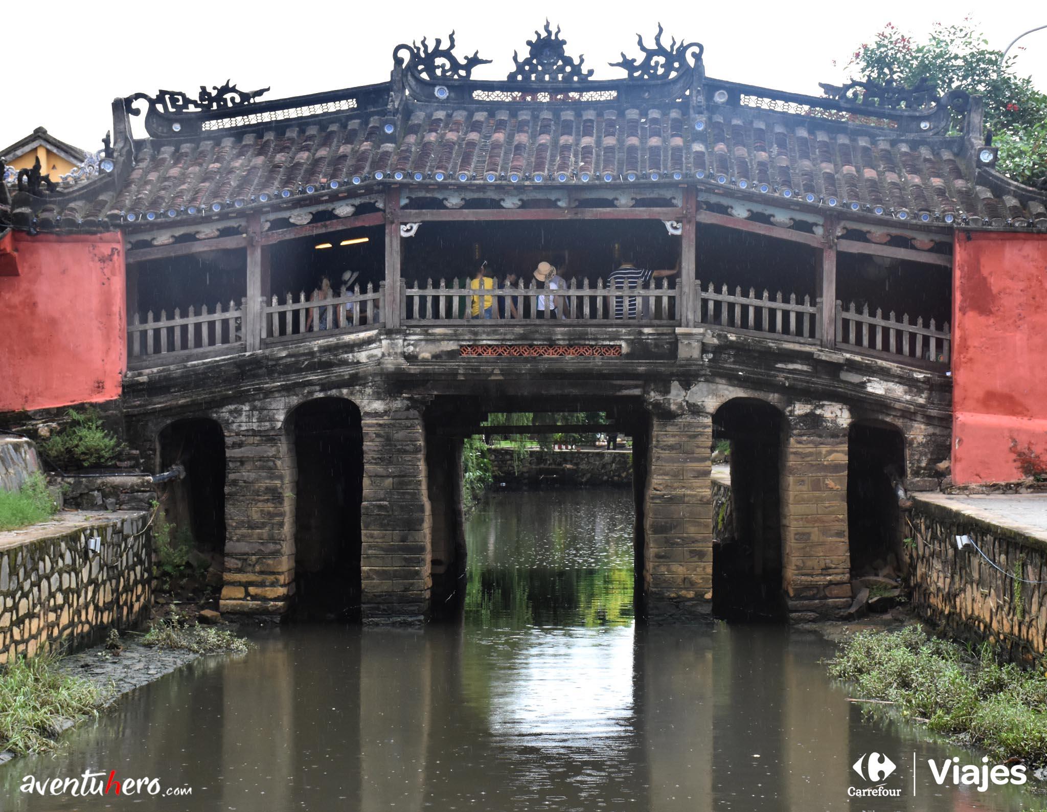 Puente de Hoi An, Vietnam