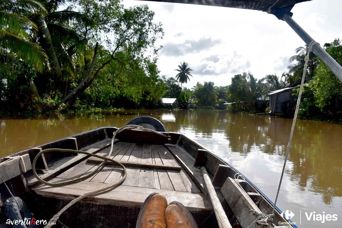 Surcando el Mekong