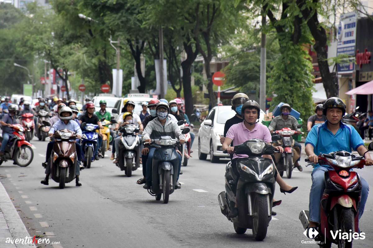 Motos en Saigón