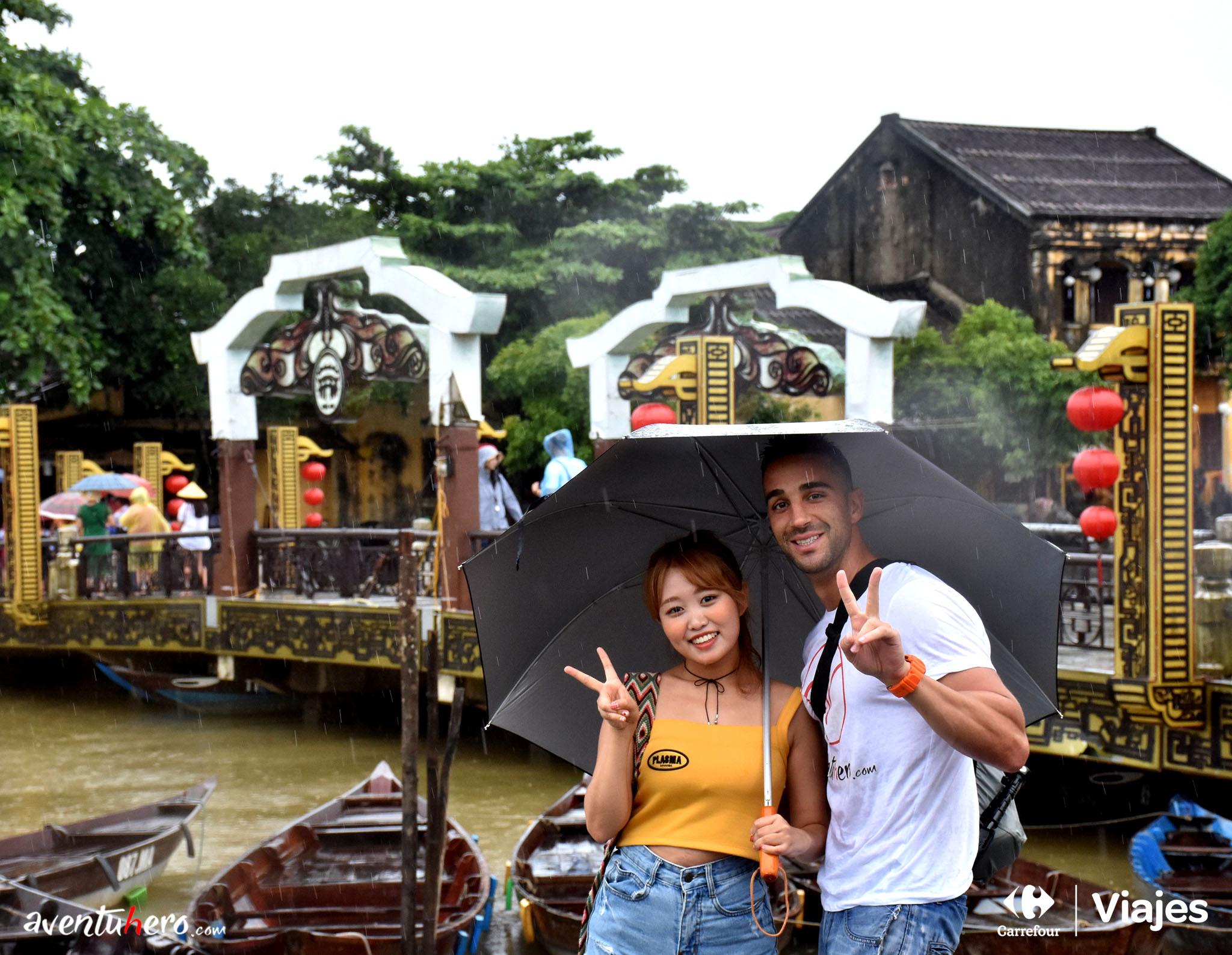 Sonrisas pasadas por agua en Hoi An