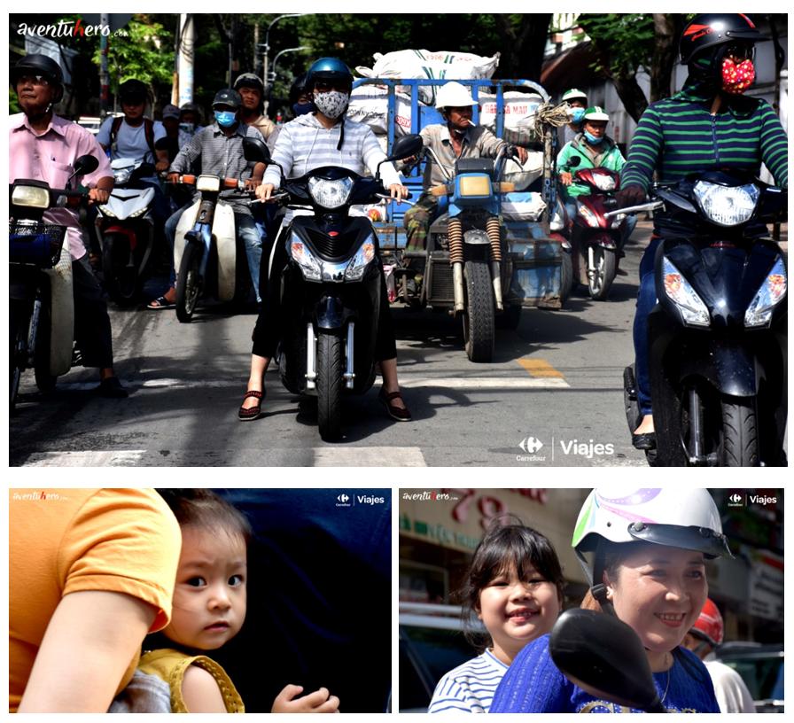 Las calles de Vietnam