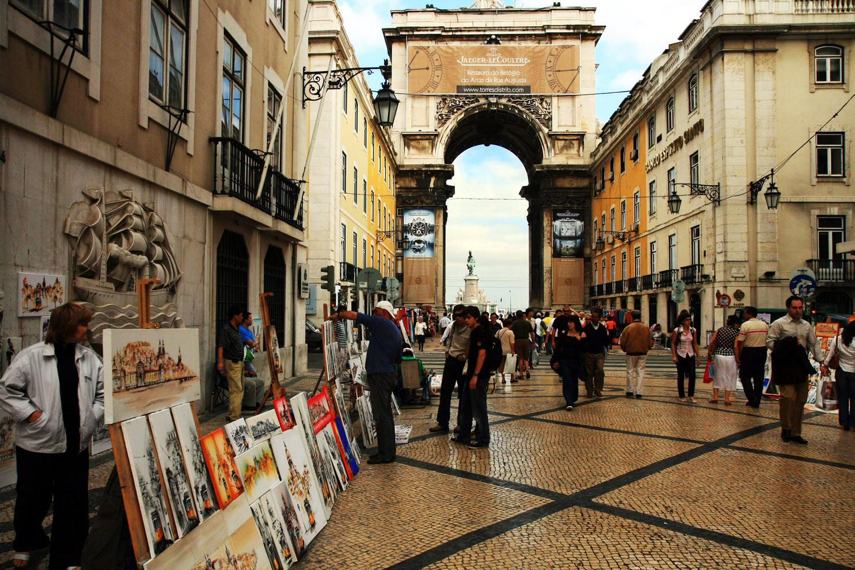 Lisboa arco y via augusta