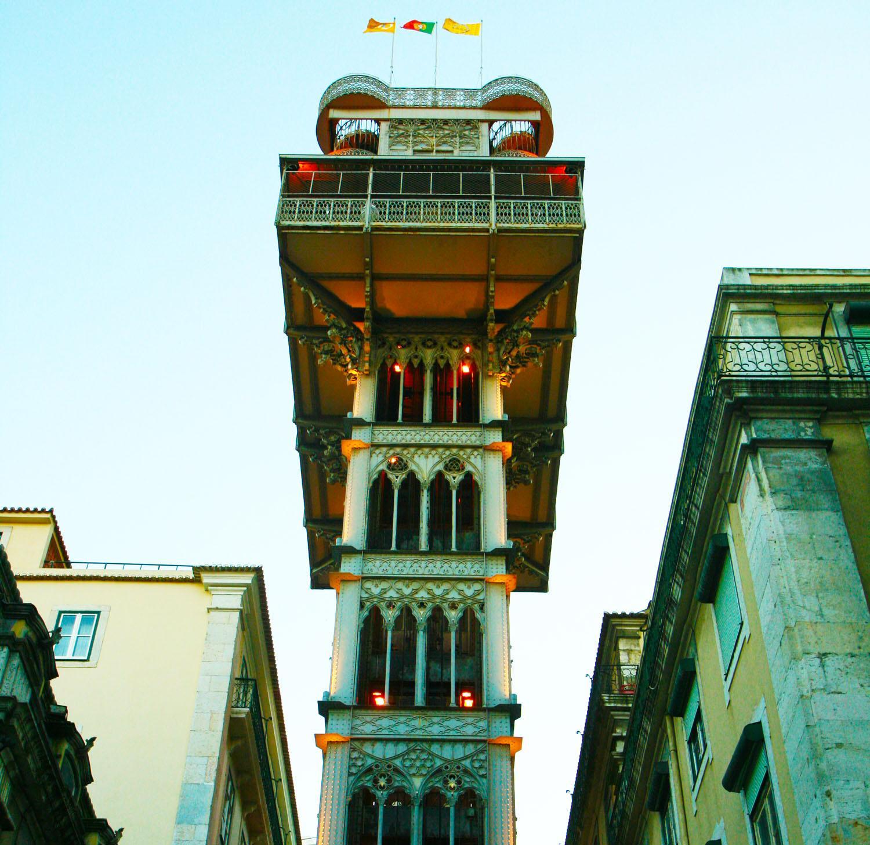 Lisboa elevador santa justa