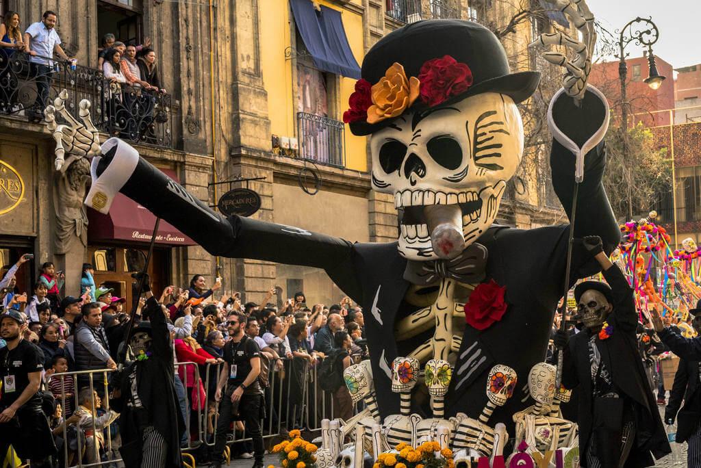 Día de los Muertos, Desfile México DF