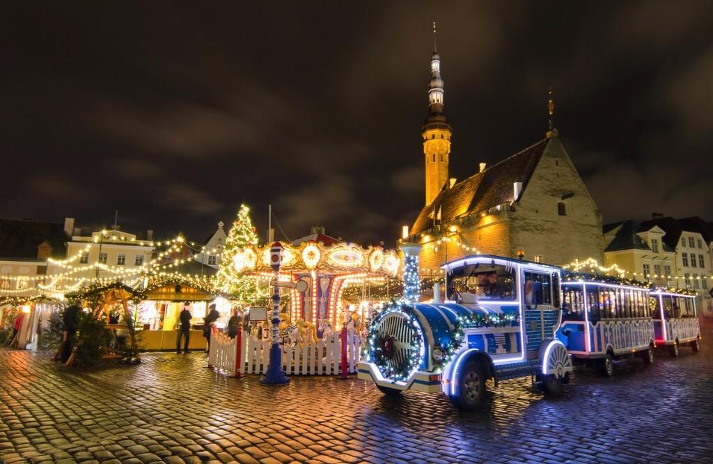 Londres en Navidad, Mercado navideño de Tallin