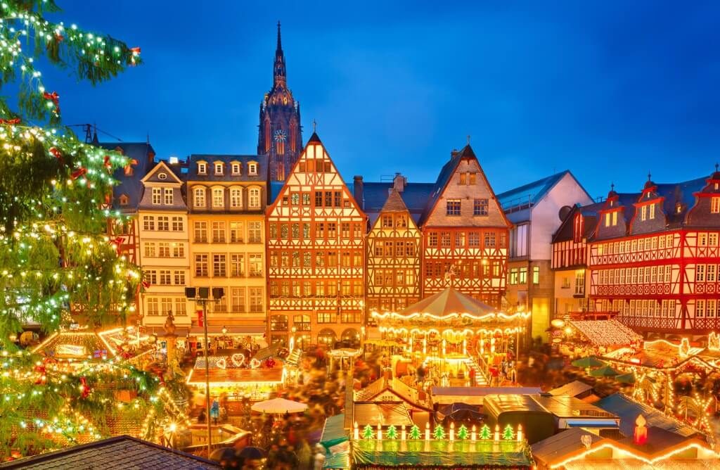 Londres en Navidad, Mercado navideño de Frankfurt