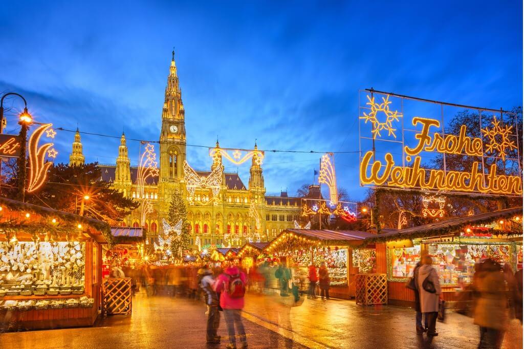 Londres en Navidad, Mercado navideño de Viena