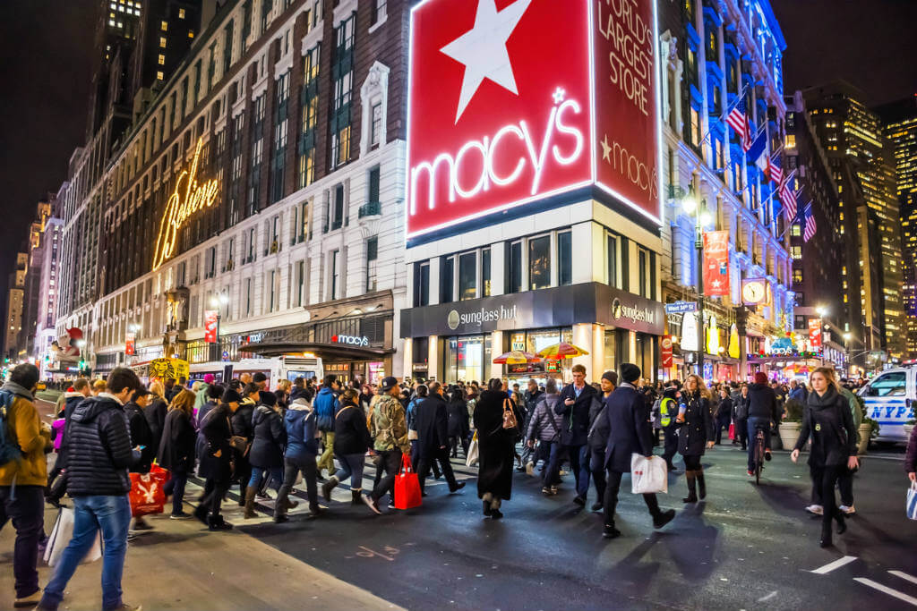 Black Friday, Shopping en Nueva York