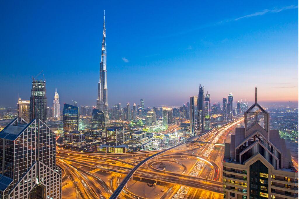 Destinos más populares, Dubai