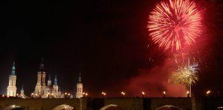 Fiestas del Pilar, Fuegos artificiales