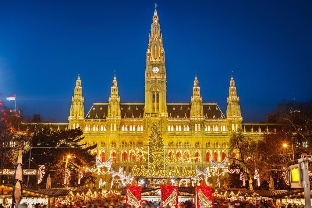 Hoteles en Berlin, Mercado de Navidad en Viena