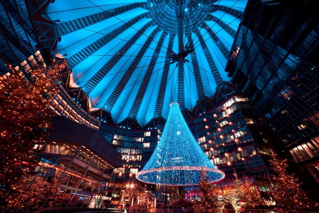 Hoteles en Berlin, Navidad en Postdamer Platz
