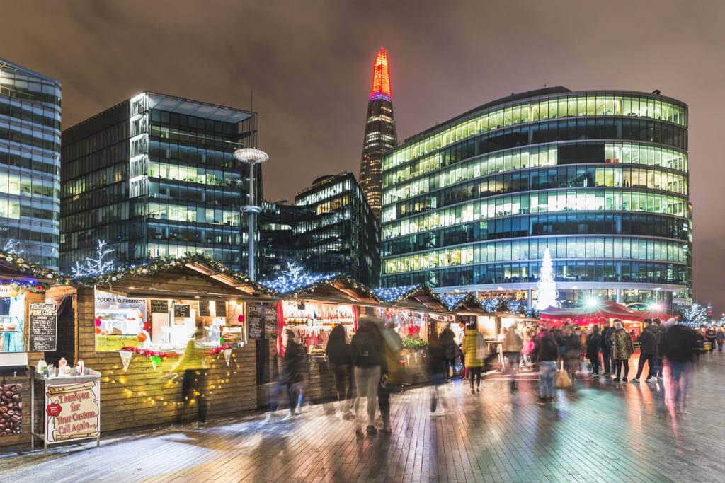 Londres en Navidad, Mercado navideño del Puente de Londres