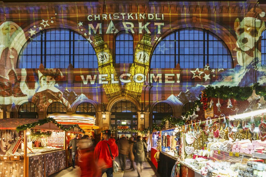 Londres en Navidad, Mercado Navidad en Zurich