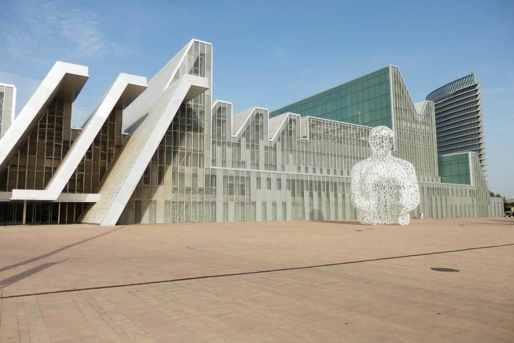 Fiestas del Pilar, Palacio de Congresos de Zaragoza