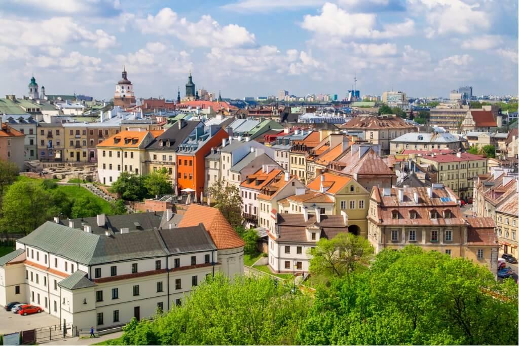 Vuelos a Polonia, Lublin